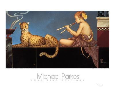 Dusk Print by Michael Parkes