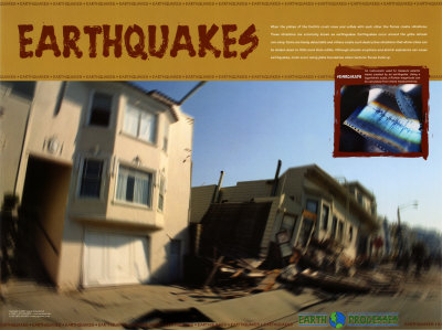 Earthquakes Prints