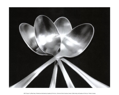 Spoons Poster by Mike Feeley