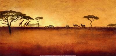 Serengeti I Kunsttryk