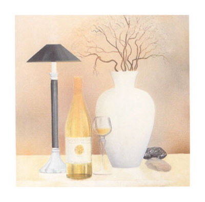 Still Life with Black Lamp Posters by Heinz Hock