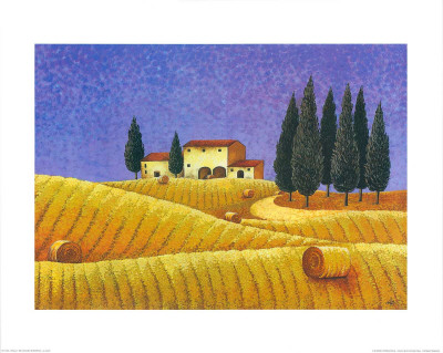The Colours of Provence II Posters by M. Picard