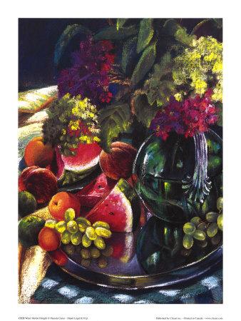 Water Melon Delight Prints by Pamela Carter