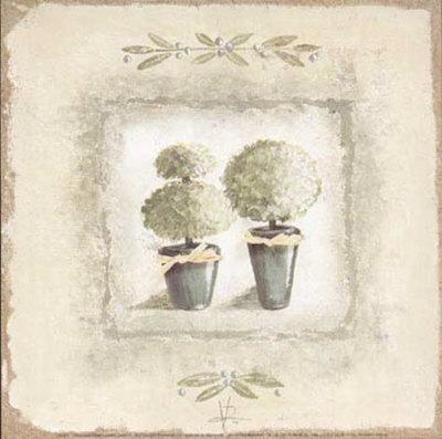 Jardin I Prints by Véronique Didier-Laurent