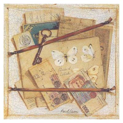 Trompe l'Oeil a la Clef Prints by Pascal Cessou