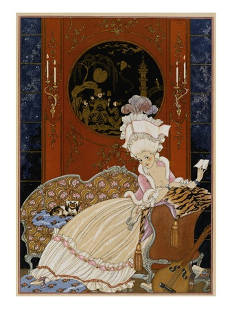 Love Letter Premium Giclee Print by Georges Barbier