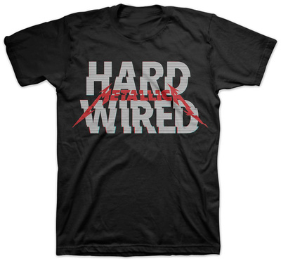 Metallica - Hardwired T-shirts
