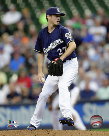 MLB: Zach Davies 2016 Action Photo