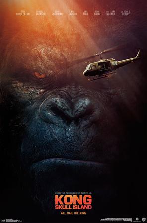 Kong: Skull Island- All Hail the King Poster