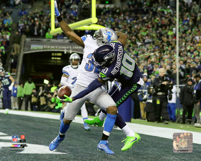 NFL: Paul Richardson touchdown catch 2016 NFC Wild Card Game Photo