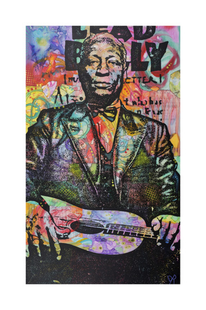 Lead Belly Giclee Print by Dean Russo