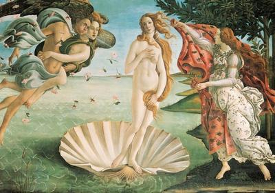 Botticelli- Nascita Di Venere (Birth Of Venus) Poster by Sandro Botticelli