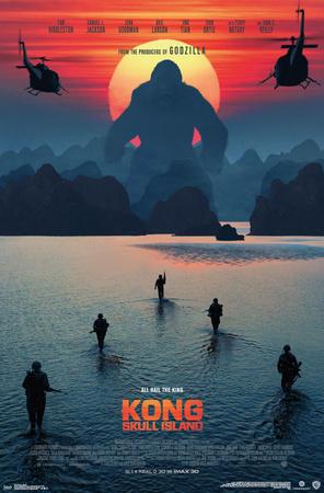 Kong: Skull Island- Beach Sunset (Apocalypse Now style) Posters
