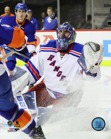 NHL: Henrik Lundqvist 2016-17 Action Photo