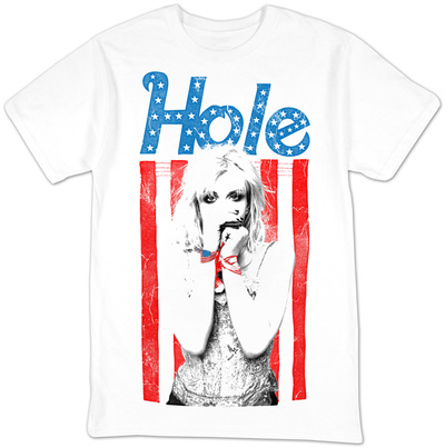 Hole- All American Courtney Love T-Shirt