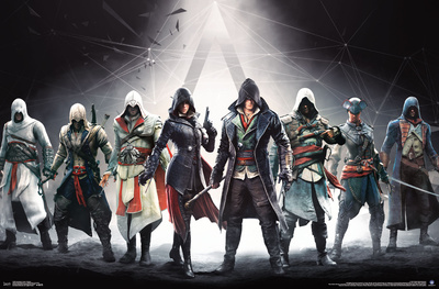Assassin's Creed- Lineage Banner Poster