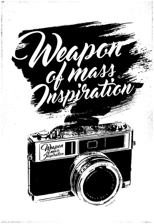 Weapon of Mass Inspiration – Camera Photography Prints