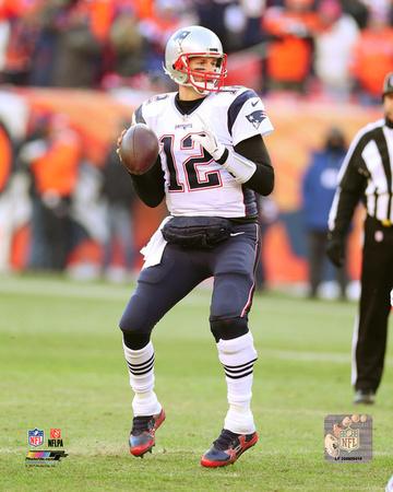 NFL: Tom Brady 2016 Action Photo