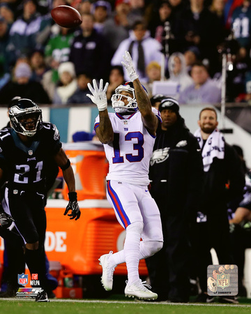 NFL: Odell Beckham 2016 Action Photo
