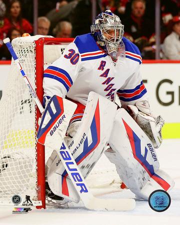 NHL: Henrik Lundqvist 2015-16 Action Photo