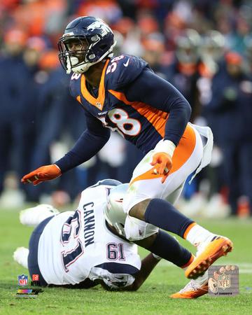 NFL: Von Miller 2016 Action Photo