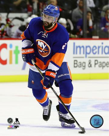 NHL: Nick Leddy 2016-17 Action Photo