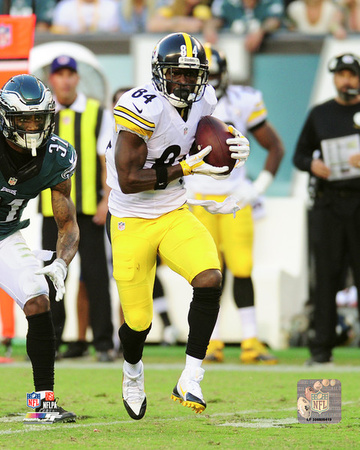 NFL: Antonio Brown 2016 Action Photo