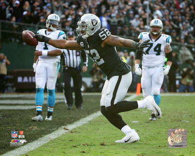 NFL: Khalil Mack 2016 Action Photo