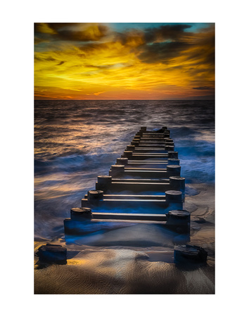 Outfall at Sunrise 2 Prints by Robert Lott