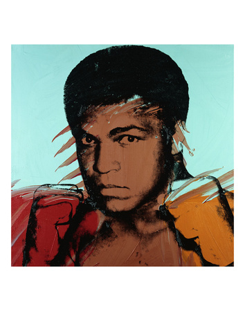 Muhammad Ali, c. 1977 Posters by Andy Warhol