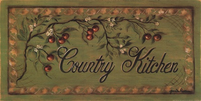 Country Kitchen Poster by Grace Pullen