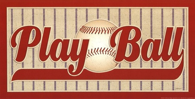 Play Ball Prints by Jeremy Wright