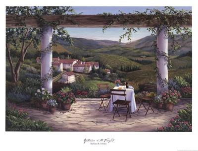 Afternoon in the Vineyard Prints by Barbara Felisky