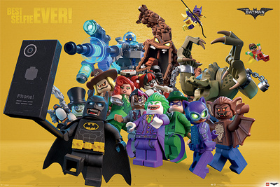 Lego Batman- Best Selfie Ever! Affischer