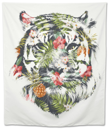 Tropical Tiger Tapestry by Robert Farkas