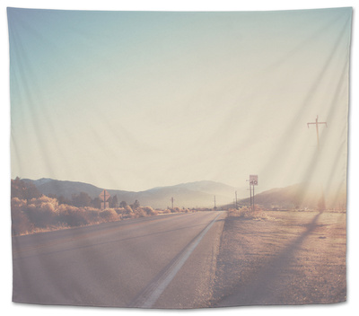 California Tapestry by Laura Evans