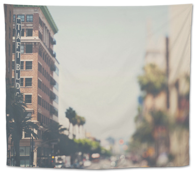Los Angeles Tapestry by Laura Evans