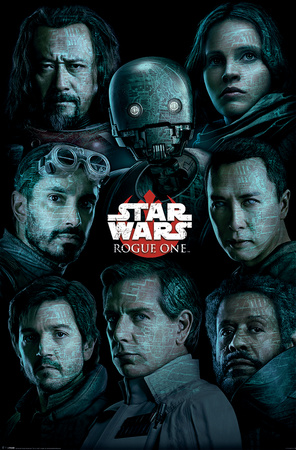 Star Wars: Rogue One- Character Collection Plakat