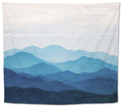 Blue Mountains Tapestry by  PhotoINC