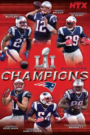 Super Bowl LI - Champions Prints
