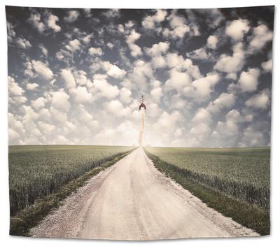 Les Adventures Tapestry by Luis Beltran