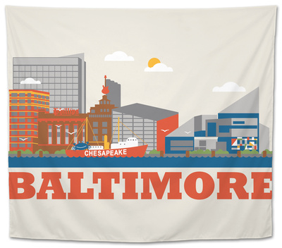 City Living Baltimore Natural Tapestry