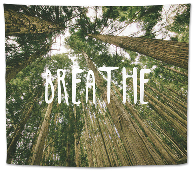 Breathe Tapestry