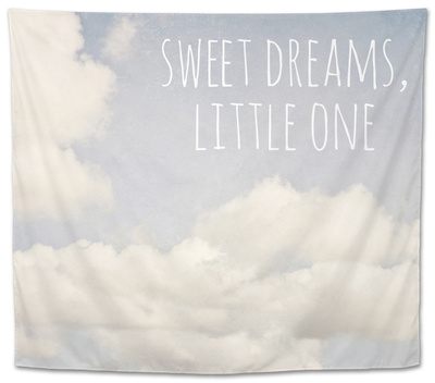 Sweet Dreams, Little One Tapestry by Susannah Tucker