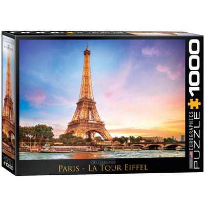 Paris La Tour Eiffel 1000 Piece Puzzle Jigsaw Puzzle