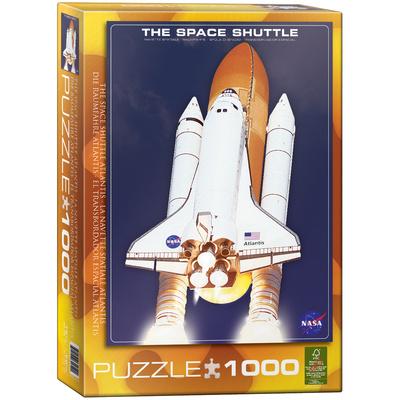 The Space Shuttle Atlantis 1000 Piece Puzzle Jigsaw Puzzle