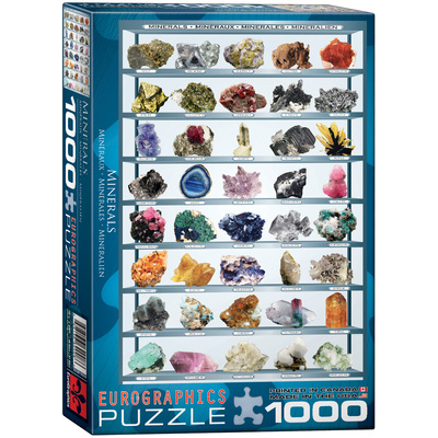 Minerals 1000 Piece Puzzle Jigsaw Puzzle
