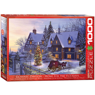 Home for the Holidays by Dominic Davison 1000 Piece Puzzle Jigsaw Puzzle