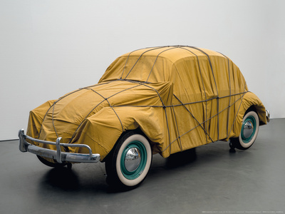 Wrapped Beetle, 1963/2014 Poster af  Christo