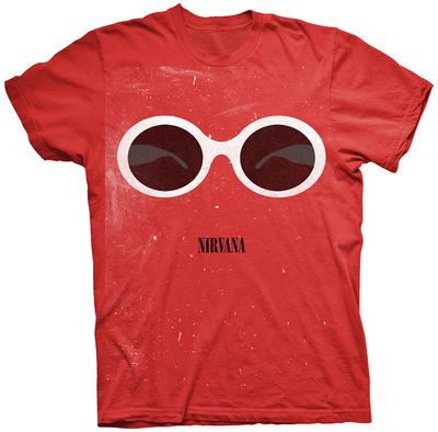 Nirvana- White Lanvin Sunglasses T-shirts